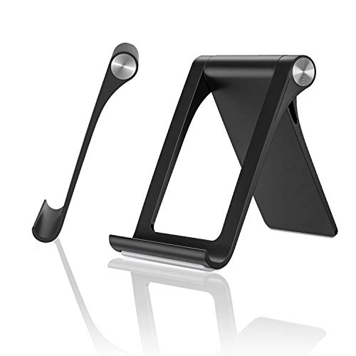Phone Stand Portable, Lululeague Adjustable Mobile Phone Stand 360