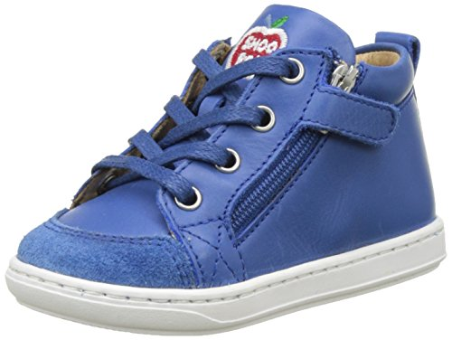 Shoopom Bouba Bi Zip - Primeros Pasos de Otra Piel Bebé-Niñas Azul (Azur)