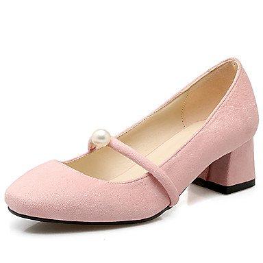 Chunky Zormey Square CN34 De De Zapatos UK3 Mujer Bomba La Toe En Disponibles Más EU35 Perlas Slip Colores Talón US5 qwfwr