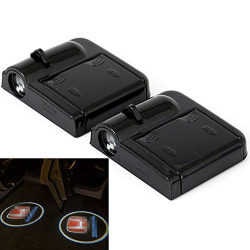 2pcs Wireless Car Door Led Welcome Laser Projector Logo Ghost Shadow Light Car-styling Car Interior Lamp Light (Honda)