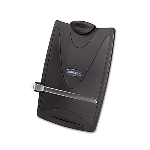 - Kensington 62411 Insight Plus Easel Desktop Copyholder, 50 Sheet Capacity, Graphite