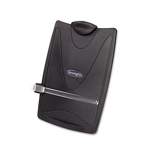 Kensington 62411 Insight Plus Easel Desktop Copyholder, 50 Sheet Capacity, -