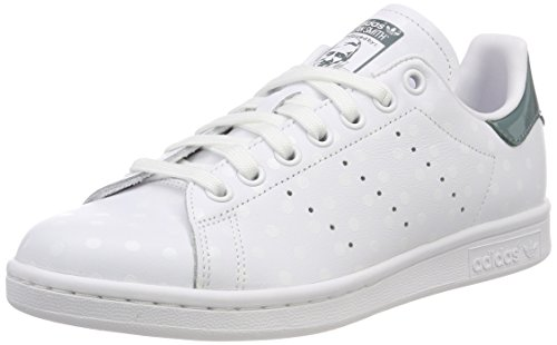 Chaussures De B41624 raw W Adidas White ftwr Femme Tennis Green Stan Blanc Smith White ftwr qwI66Spt