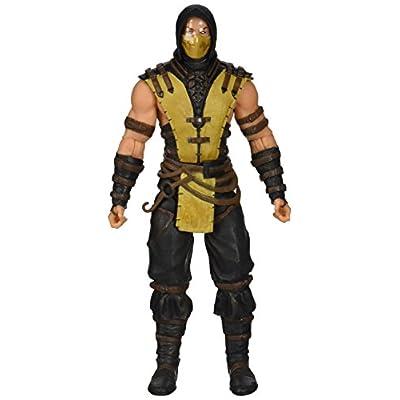 Mezco Toyz Mortal Kombat X: Scorpion Figure: Toys & Games