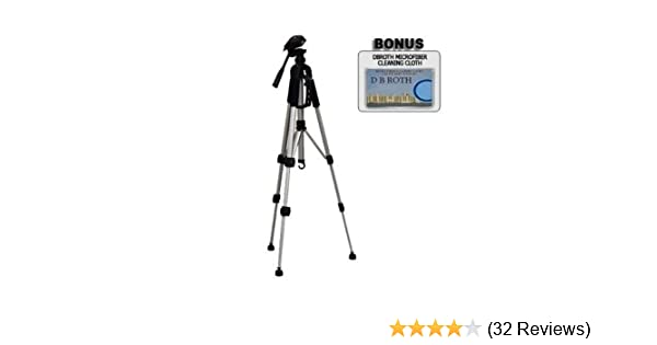 Professional 67 Monopod HDR-HC Gripster Tripod Includes 75 Tripod w//Carrying Case HDR-SR HDR-UX TRV Series Camcorders 3 Piece Tripod Package for Sony HDR-CX