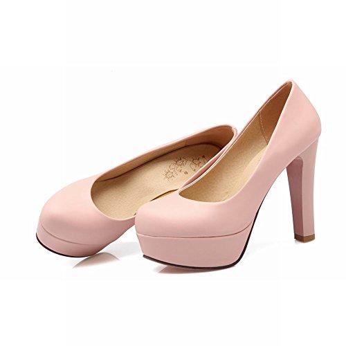 best authentic 787d2 6ca5c Mee Shoes Damen runder toe Geschlossen Plateau high heels Pumps