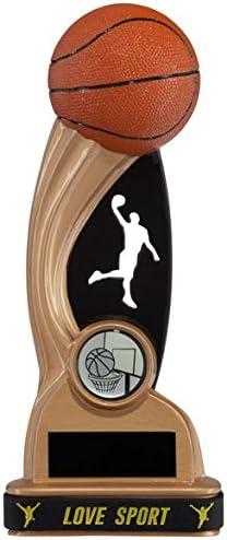Resina Shadow Blast baloncesto trofeos: Amazon.es: Hogar