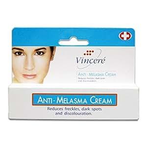 vin 21 cream anti melasma reduces age spots sun spots pigmentation freckles 15 g. Black Bedroom Furniture Sets. Home Design Ideas