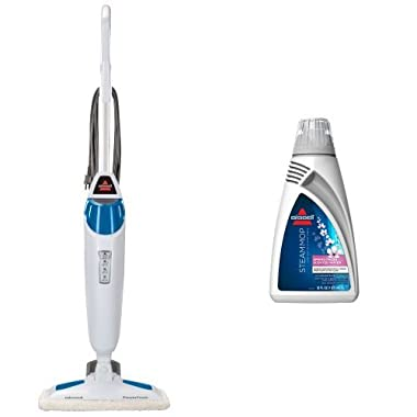 Freshen your Clean Bundle - PowerFresh Steam Mop + Spring Fresh Scented Demineralized Water