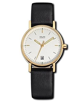 Mini Basic - Uhr - goldfarben-schwarz