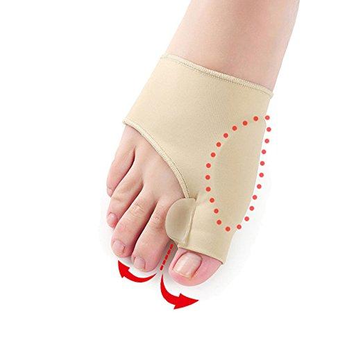 AP Shop, 1 Pair Bunion Gel Socks Hallux Valgus Device Foot Pain Relieve Big Toe Separator Socks For Pedicure Orthopedic Correction (Costume Direct New Business)