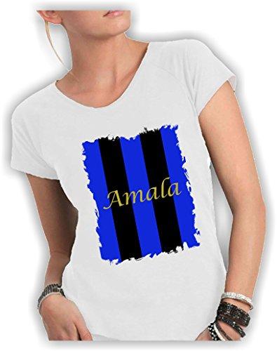 Crazy Camiseta Bianco Mujer Para Social adApSd