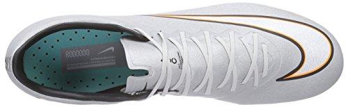 Nike Mercurial Vapor X Cr Fg - Botas de fútbol Hombre Gris (mtllc slvr/white-hypr trq-brgh)