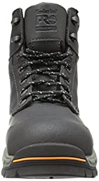 Timberland PRO Men\'s 6 Inch Stockdale Grip Max Alloy Toe Work and Hunt Boot, Black Microfiber, 11.5 M US