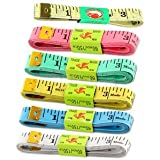 NEW 3 X 60 / 1.5M SEWING TAILOR SOFT FLAT FABRIC TAPE MEASURE / MEASURING TAPES by UBAEE