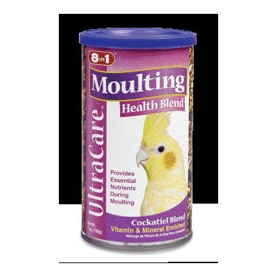 - Ultracare Moulting Health Blend Bird Food [Set of 4] Size: 8 oz., Type: Parakeet