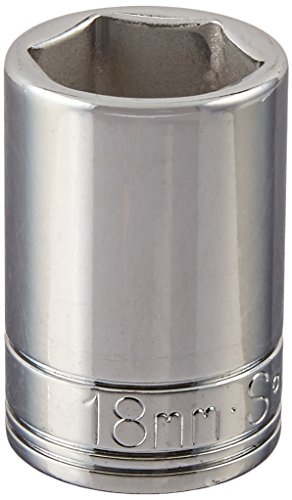 SK Hand Tool 48218 6 Point 1/2-Inch Drive Standard Socket...