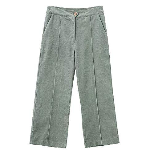 (Onoti Molazo Womens Wide Corduroy Cotton Pants M)