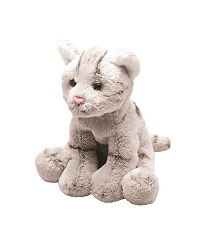 Amazon.com: Grey Tabby Cat Sitting: Toys & Games
