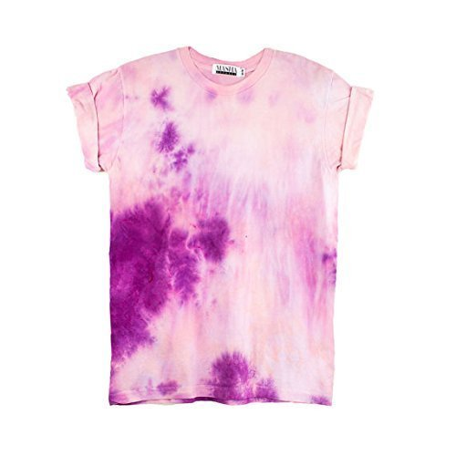 Pink Tie Dye Unisex T-Shirt Pattern Shirt short Sleeve Plus Size S, M, L, XL, XXL, XXXL by Masha Apparel