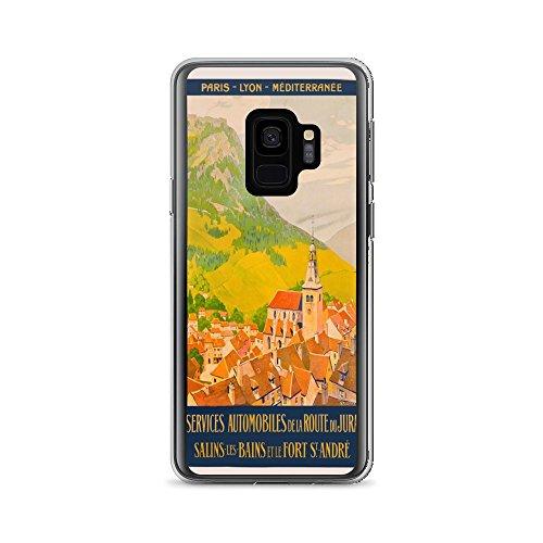 Vintage Poster - Route du Jura, France 1526 - iPhone Xs Phone ()