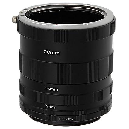 Amazoncom Fotodiox Canon Eos Macro Extension Tube Set For Extreme