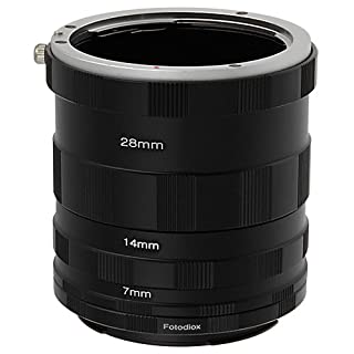 Fotodiox Canon EOS Macro Extension Tube Set for Extreme Close-Ups (B003Y60DZO) | Amazon price tracker / tracking, Amazon price history charts, Amazon price watches, Amazon price drop alerts