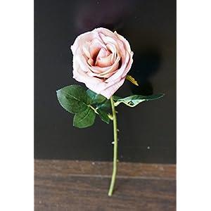 Sweet Home Deco 19'' Single Rose Spray Silk Artificial Flowers (Set of 3) 69