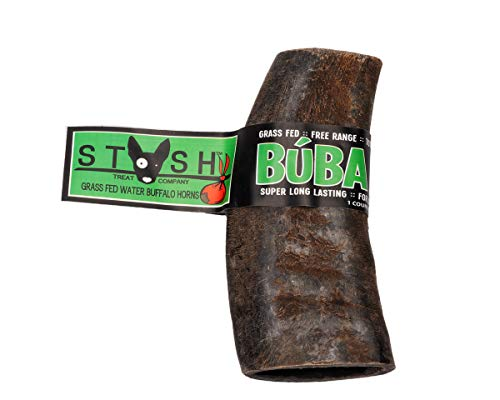 - Buba Chew Natural Water Buffalo Horn - Large