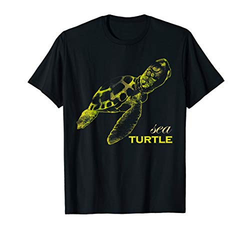 Yertle The Turtle Costumes Ideas - Awesome Watercolor Sea Turtle Tee