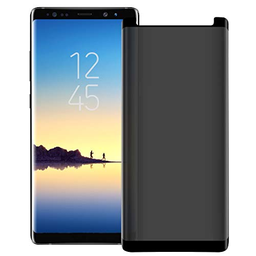 Galaxy Note 8 Privacy Screen Protector,Letang [3D Curved] [Case Friendly] 9H Hardness...