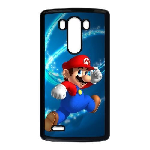 LG G3 phone case Black Super Mario BrosMOL7621481