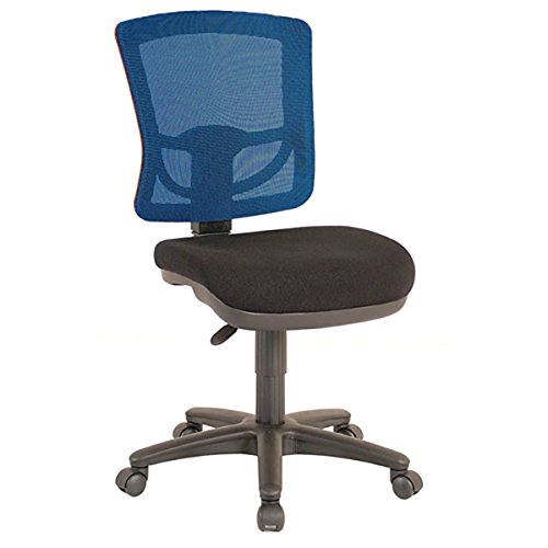 Comfort Sewing Chair with Blue Mesh Back