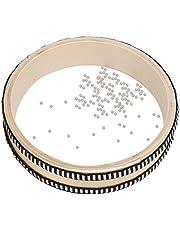 Ocean Drum, Maple Wave Bead Drum Natural Colour Ocean Drum Musical Instrument Percussion for Children