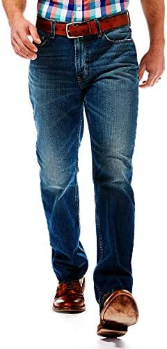 Haggar Mens Denim - Slim Fit Jean