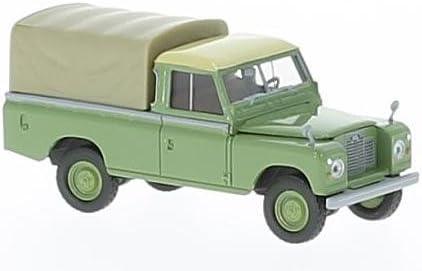 Fertigmodell Modellauto gr/ün Land Rover 109 Brekina Starmada 1:87