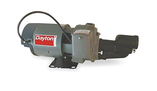 Dayton 3//4 HP SS Shallow Well Jet Pump 4HFA3