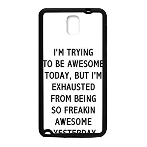 I'M Trying Hot Seller Stylish Hard Case For Samsung Galaxy Note3