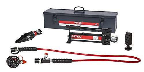 Betex - Hydraulic Flange Spreader & Lifting Wedge Set 15 TLS Incl Steel Storage Case by Betex