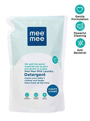 Mee Mee Mild Baby Liquid Laundry Detergent (500 ml – Refill Pack)