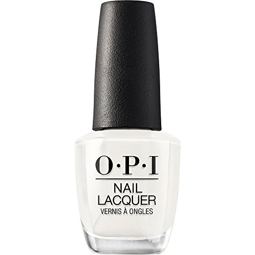 OPI Nail Lacquer, Funny Bunny, Pearly White, 0.5 fl oz