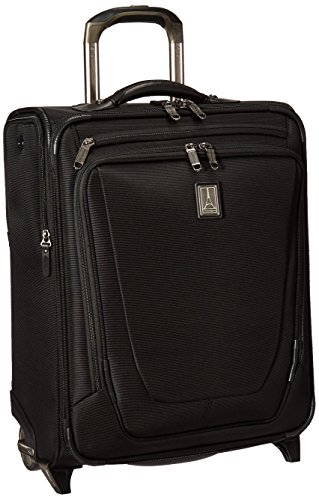 Travelpro o Crew 11 International Rollaboard Carry-on Suitcase, Black by Travelpro