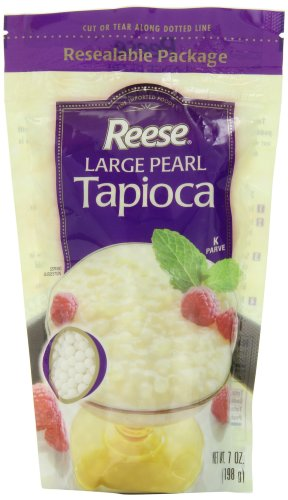 Large Pearl Tapioca - Reese Large Pearl Tapioca, 7-Ounces (Pack of 6)