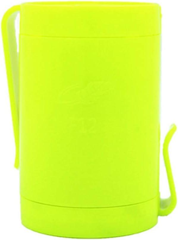 Color : Fluorescent Green Hanging Waist USB Charging Mini Fan Large Wind Portable Outdoor Work Handheld Small Electric Fan 5W USB Fan Jiu Si