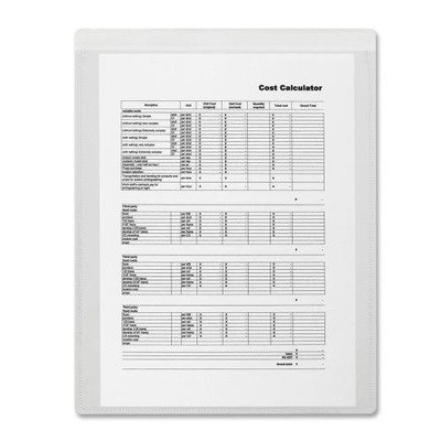 BSN16465 - Business Source Self-Adhesive Shop Ticket Holder
