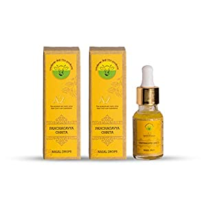A2 Organics Panchagavya Ghrita – 15ml per bottle (Pack of 2) – A2 Desi Cow Ghee Nasal Drops | 100% Pure Organic and…