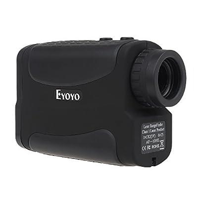 Eyoyo Golf Laser Range Finder - AF1000L 1000 Yard Rangefinder Binoculars with Advanced PinSeeker & InteliScan Technology 5 Modes