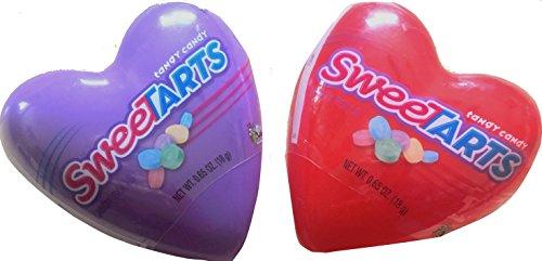Sweetarts Tandy Candy Heart Valentines Net Wt 0.65oz (Sweetarts Hearts)