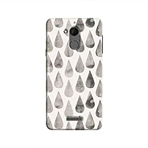Cover It Up - White Dark Drops Coolpad Note 5 Hard case