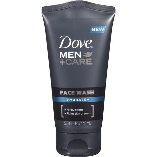 Dove Men + Care Face Wash, Hydrate, 5 Oz